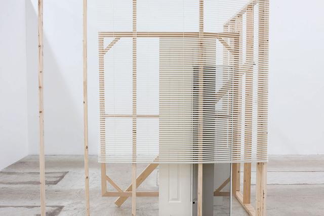 , 'A Corner Structure Assemblage,' 2014, Alejandra von Hartz Gallery