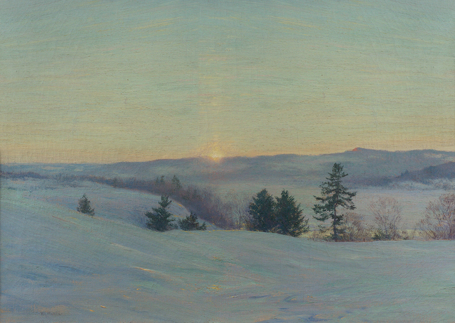 , 'The Last Gleam (Hudson at Dusk),' 1908, Questroyal Fine Art