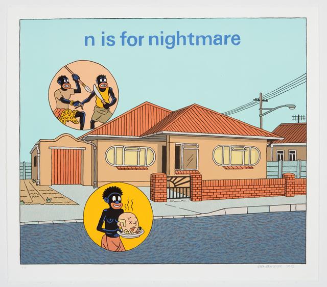 , 'N Is for Nightmare,' 2013, HUBERTY & BREYNE GALLERY