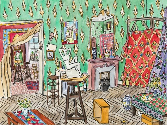Damian Elwes, 'Matisse's Studio, Nice', 2016, Modernism Inc.