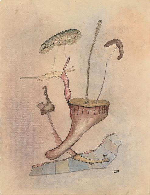 """, '""""Corolles de champignons volants"""",' 1939/40, Galerie Thomas"""
