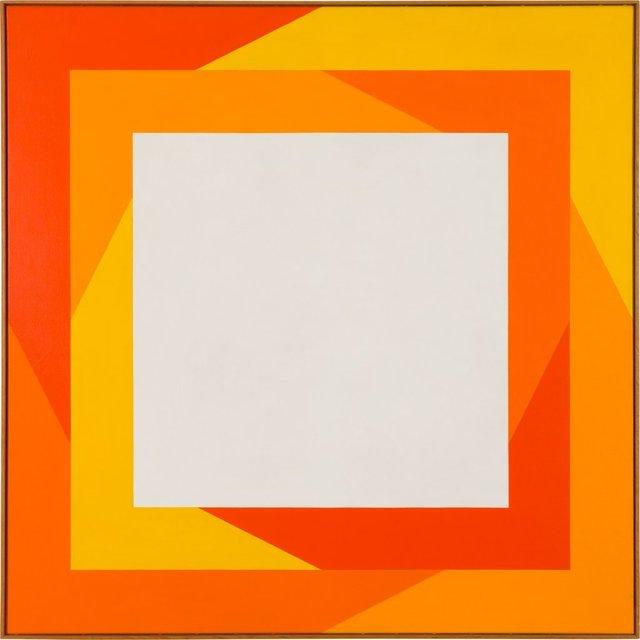 Verena Loewensberg, 'Ohne Titel', 1970, Painting, Oil on canvas, Galerie Knoell, Basel