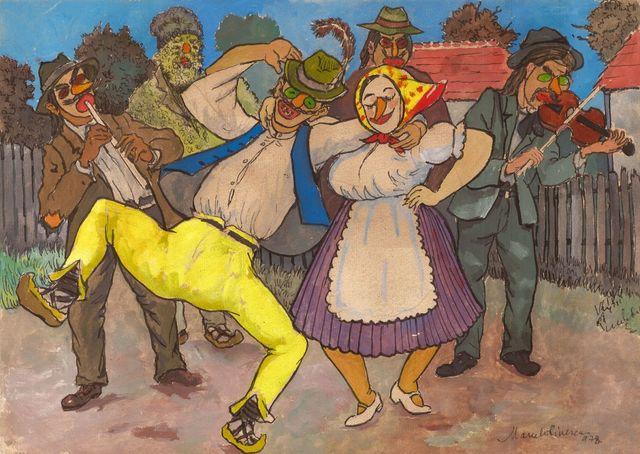 Marcel Olinescu, 'Wedding', ca. 1940, Nasui Collection & Gallery