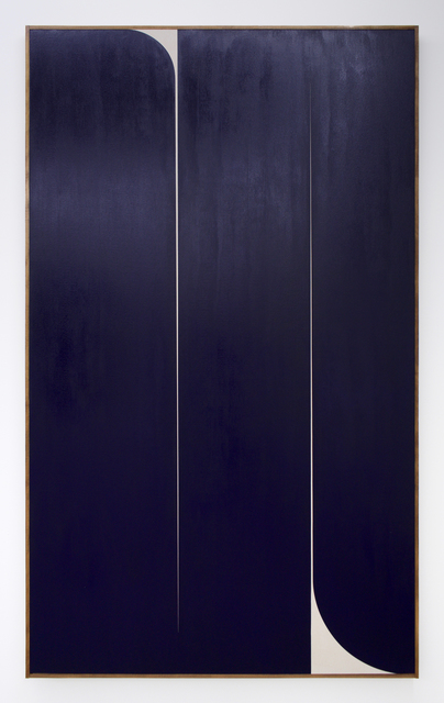 , 'Untitled (blue 2),' 2019, Romer Young Gallery