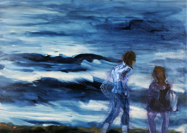 , 'Paar am Meer (Couple by the Sea),' 2013, Galerie Herold