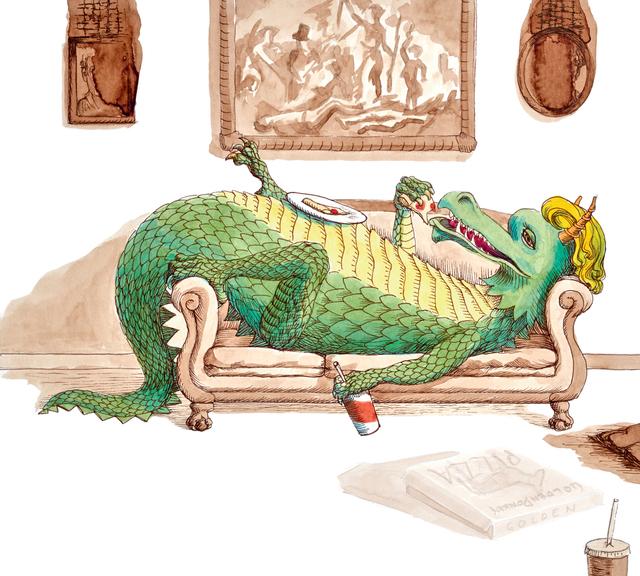 , 'Hey, I'm a Dragon,' 2018, LeMieux Galleries