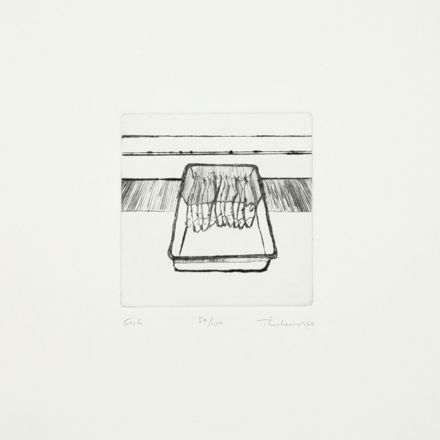 Wayne Thiebaud, 'Fish, from Delights', 1964, Phillips