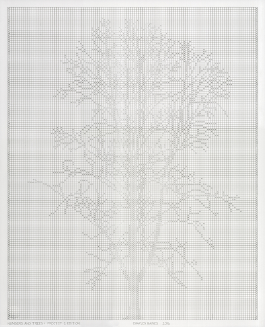 Charles Gaines, 'Numbers and Trees: Project 1 Edition', 2016, Los Angeles Contemporary Exhibitions (LACE) Benefit Auction