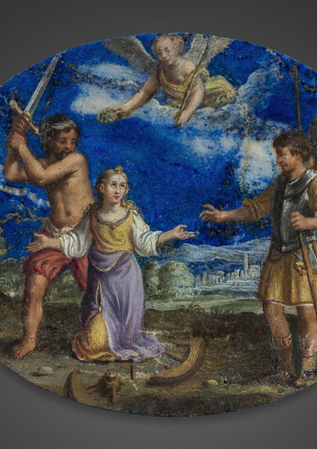 , 'Attributed to. The Martyr of Saint Catherine of Alexandria,' ca. Italy-circa 1630, J. Kugel