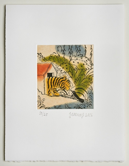 , 'Tiger,' 2016, Long & Ryle