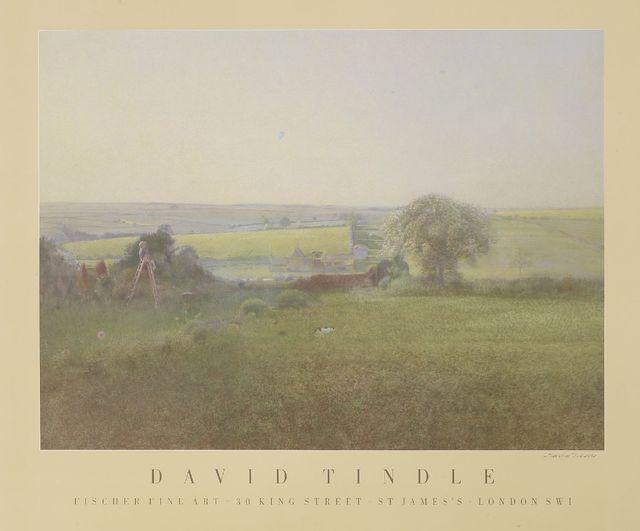 David Tindle, 'Garden East Haddon', Print, Etching, Sworders