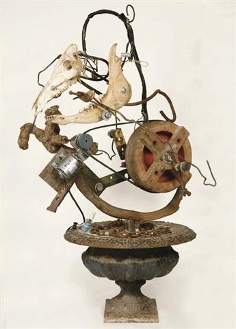 Jean Tinguely, 'Proletkunst No. 4', 1989, Galerie Andrea Caratsch