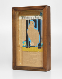 Joseph Cornell, 'Untitled (Parrot Collage; Grand Hotel de la Pomme d'Or),' 1954-1955, Phillips: 20th Century and Contemporary Art Day Sale (November 2016)
