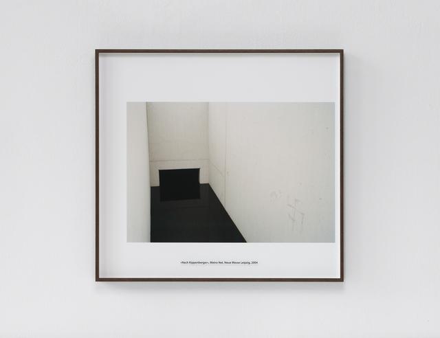 , 'Nach Kippenberger,' 2014, ASPN