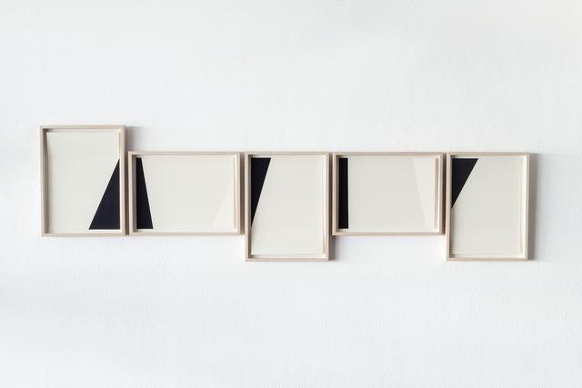 , 'White and black compositions no. 02,' 2016, Casa Triângulo