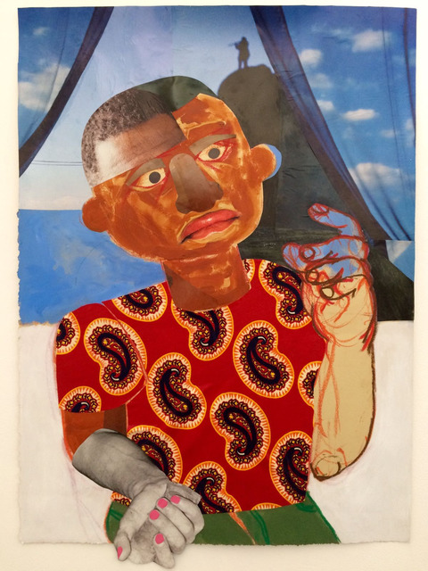 , 'Him,' 2017, Mariane Ibrahim Gallery
