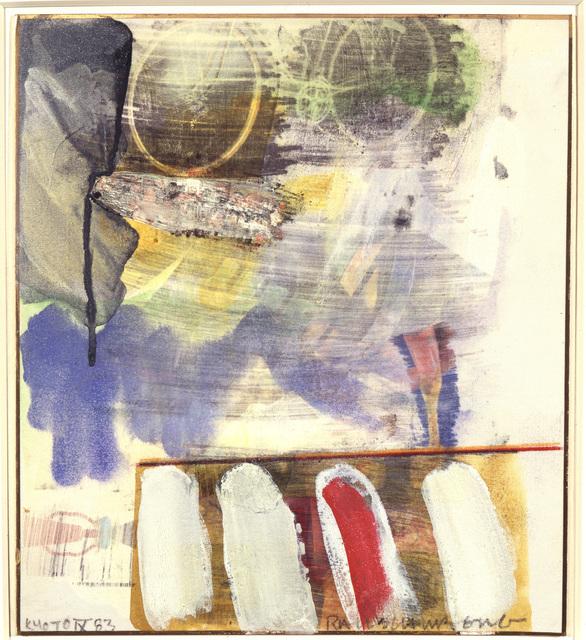 , 'Kyoto IX,' 1983, Academy Art Museum