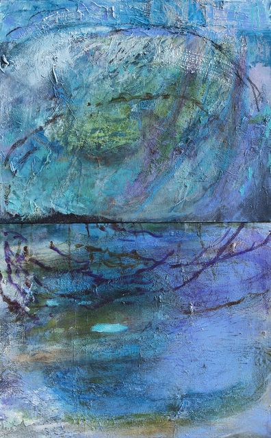 , 'First Light at Dogwood Spring, diptych,' 2019, LeMieux Galleries