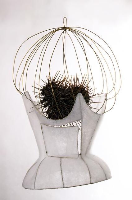 , 'Corsé-jaula para corazón de espinas/Corset-cage for a heart of thorns,' 2000-2003, 532 Gallery Thomas Jaeckel