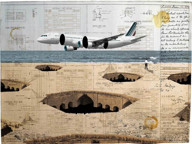 , 'Aircraft and Ancient,' 2019, Janet Rady Fine Art