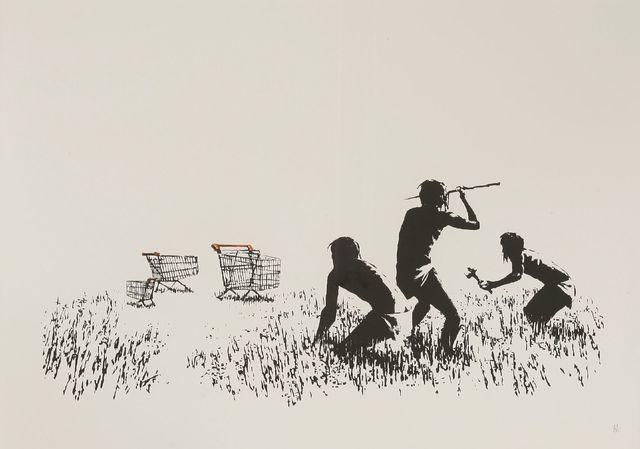 Banksy, 'Trolleys', 2007, Sworders