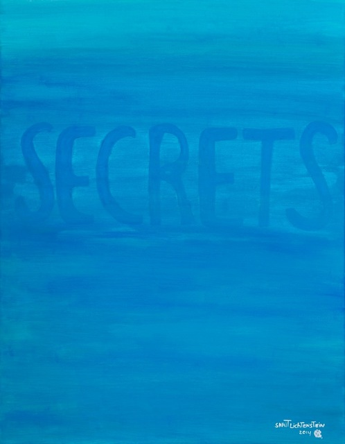 , 'Secrets in Turquoise,' 2014, Galerie AM PARK