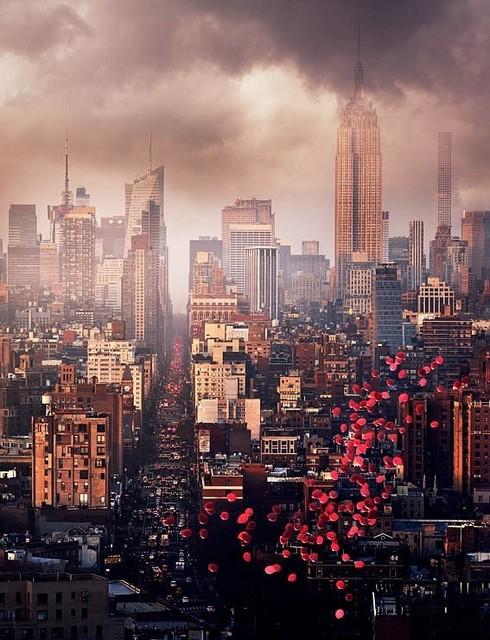 David Drebin, 'Balloons over New York', 2016, CHROMA GALLERY
