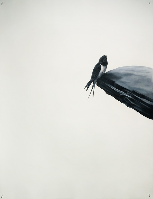 , 'Swallow on Ledge,' 2016, Sears-Peyton Gallery