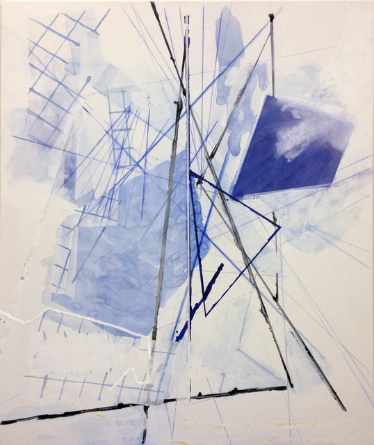 Lorraine Tady, 'Octagon Vibration Series Cloud #3', 2015, Barry Whistler Gallery