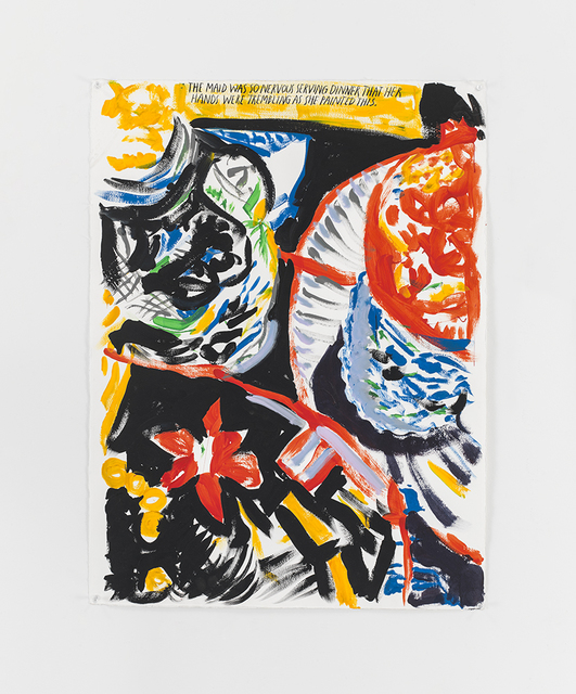 , 'No Title (The maid was...),' 2013, David Zwirner