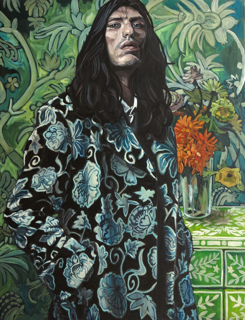 Belinda Eaton, 'Man With Flowers', 2014, Gallery at Zhou B Art Center