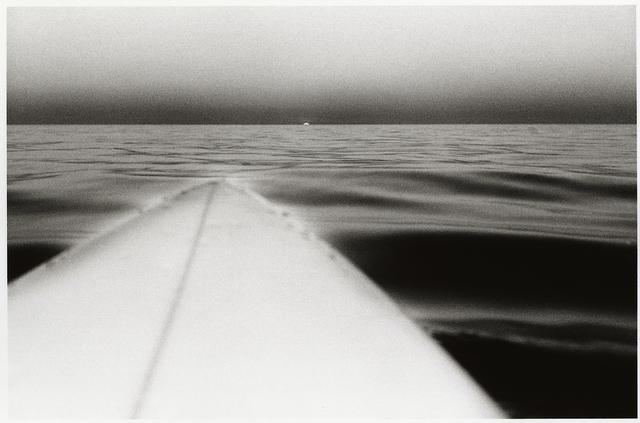 Anthony Friedkin, 'Surfboard with Setting Sun, Santa Monica, California', 1980, CHRISTOPHE GUYE GALERIE