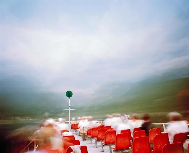 , 'Tourist ferry, 1 hour exposure, Hallstatt Austria,' 2008, Vision Neil Folberg Gallery