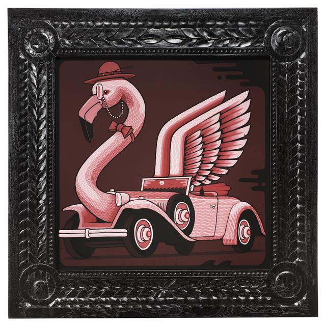 , '1929 Ruxton Flamingo,' 2017, Jonathan LeVine Projects