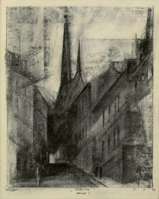 , 'Stadtkirche, Weimar I,' 1929, Galerie Utermann