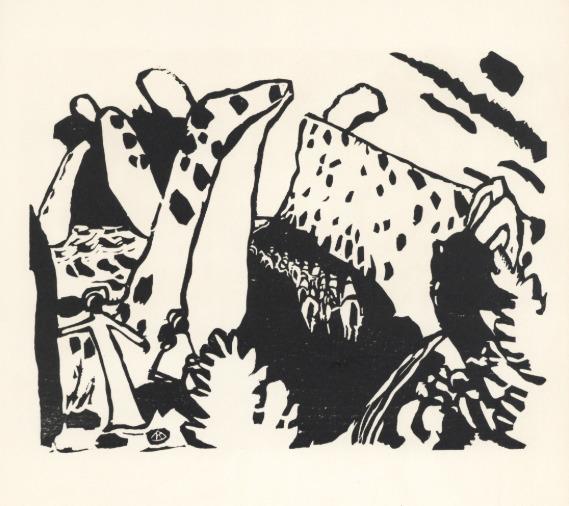Wassily Kandinsky, ''Reiterweg' / 'Riding Path'', 1911/1938, Stubbs Fine Art