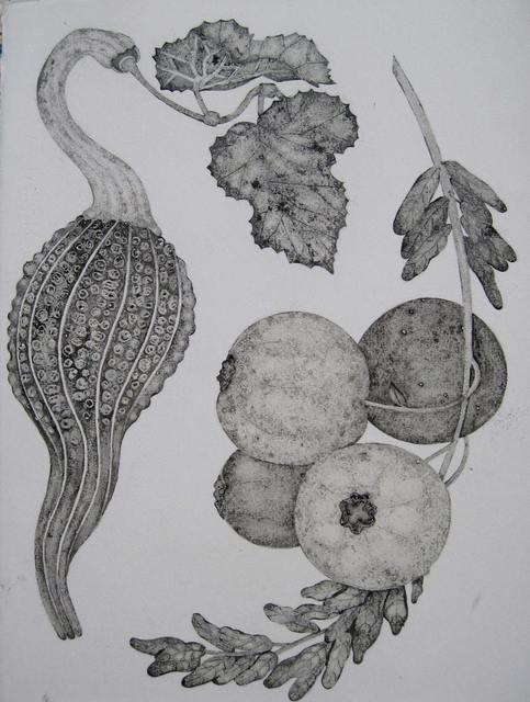 , 'Hatsuboku Study IV,' 2012, K. Imperial Fine Art