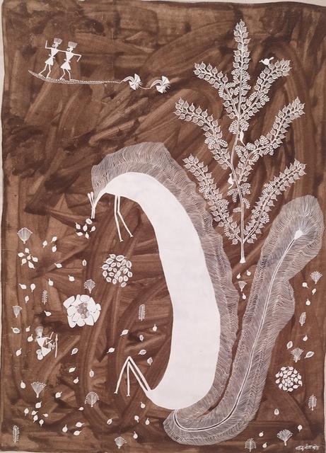 Balu Jivya Mashe, 'Untitled', 2019, Painting, Acrylic on Canvas, Arushi Arts