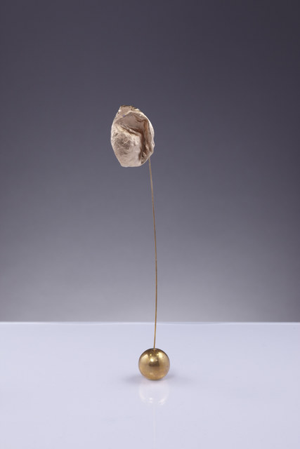 , 'Air (gold ball #1),' 2013, PITT Projects