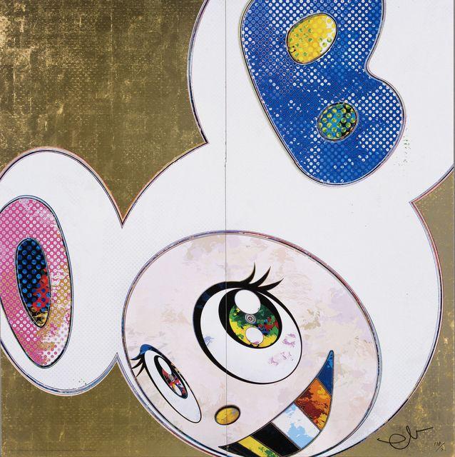 Takashi Murakami, 'DOB in Pure White Robe (Pink and Blue)', 2013, Wada Garou Tokyo