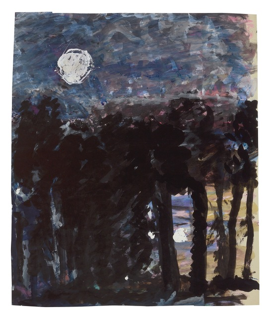 , 'Forest at Night,' undated, New York Studio School
