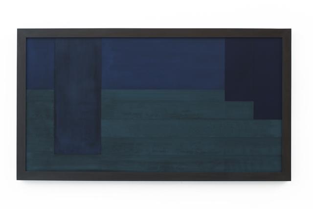 , 'Sintropic Maze - series I (Corner 8) - Blue,' 2016, Zipper Galeria