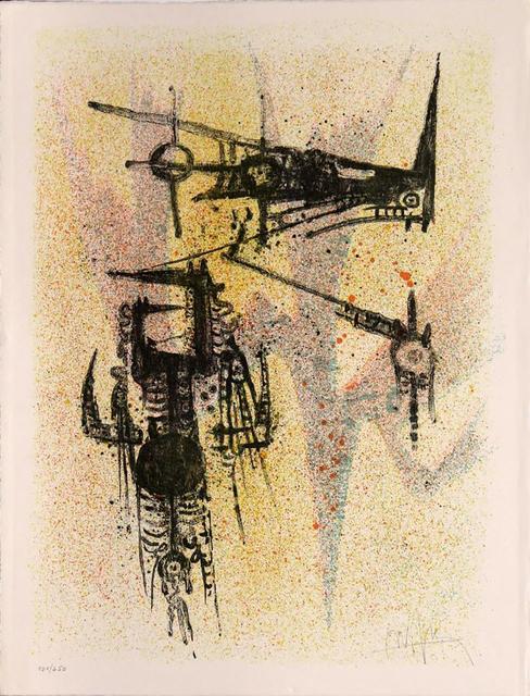 Wifredo Lam, 'Untitled', 1968, Print, Lithograph, Kunzt Gallery