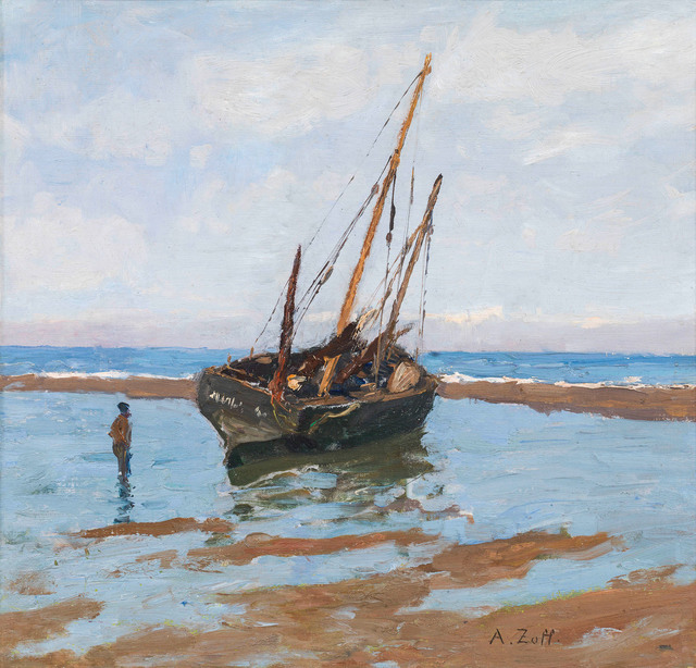 , 'On the shore of De Panne,' 1901, Galerie Kovacek & Zetter