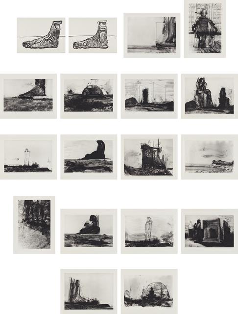 Huma Bhabha, 'Reconstructions', 2007, Phillips