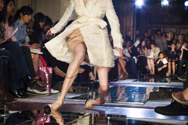 , 'A model slips on the runway at Jason Wu's spring show, New York City,' 2009, Fahey/Klein Gallery