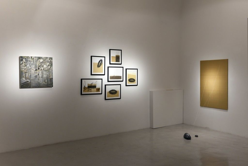 "Installation view ""Five Years"" — Alia Scalvini, Federico Guerri"