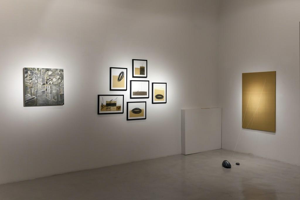 """Installation view """"Five Years"""" — Alia Scalvini, Federico Guerri"""