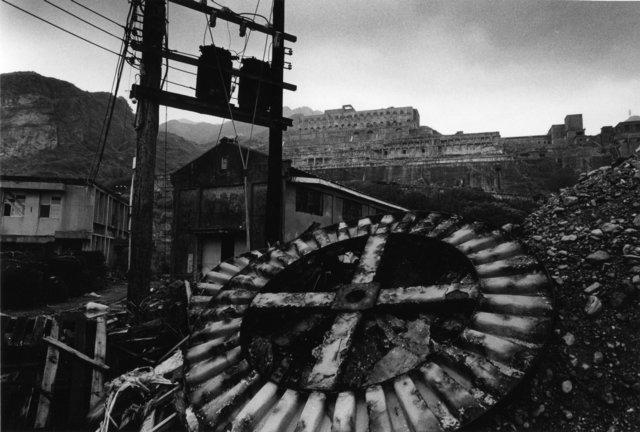 Yao Jui-chung 姚瑞中, 'Roaming  Around  the  Ruins  -  The  Civilization  Built  by  Skeleton  -  Remains  of  the  13  Levels,  Jinguashi,  New  Taipei  City ', 1993, TKG+