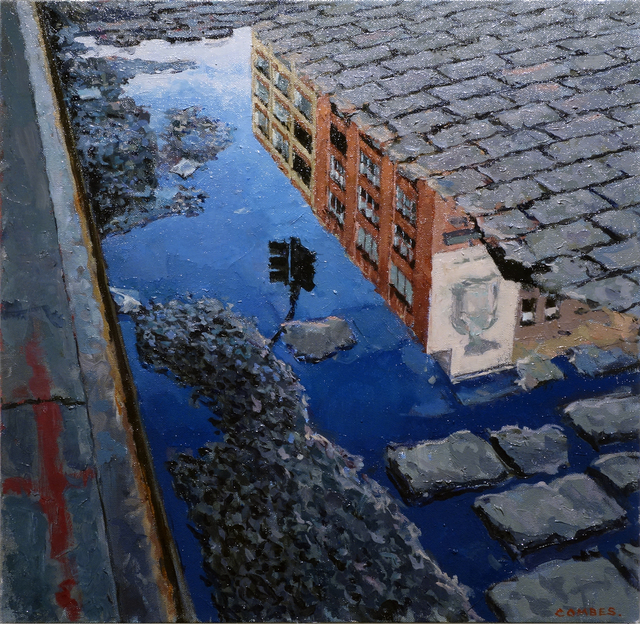 , '14th Street Reflection,' 2014, Gallery Henoch